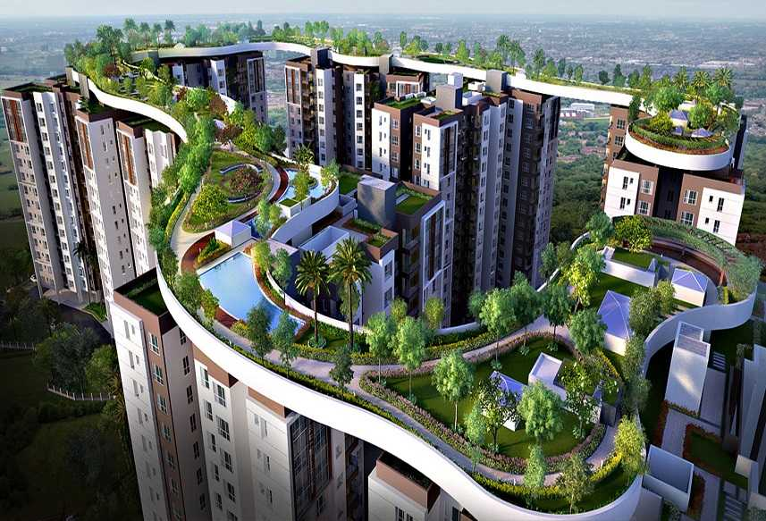 2 - 4 BHK, Siddha Galaxia