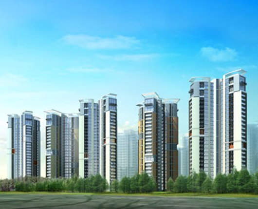 4 BHK Penthouse  at Unitech Heights, Newtown