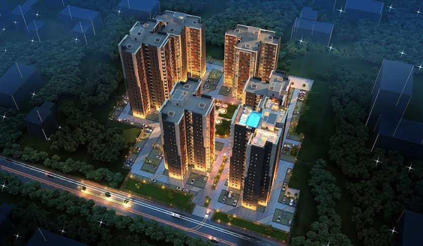 2 BHK Flat  at Rajwada Royal Garden, Narendrapur