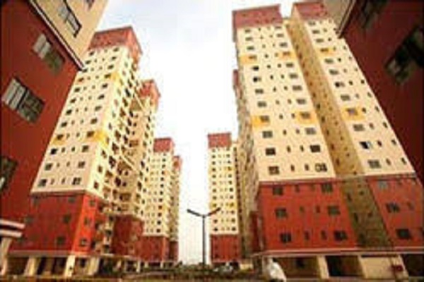 2 BHK Flat  at Green Field Heights, Newtown