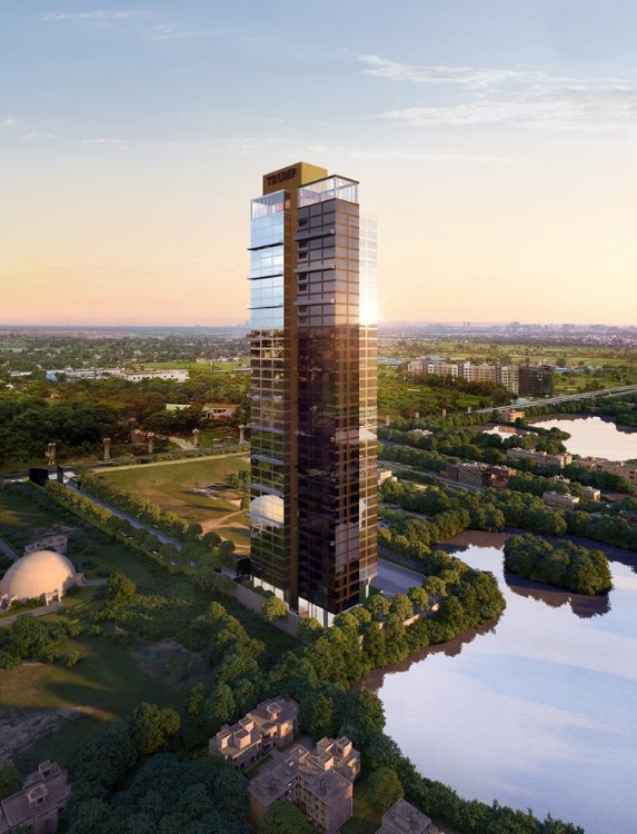 4 BHK Flat  at Trump Tower, Topsia