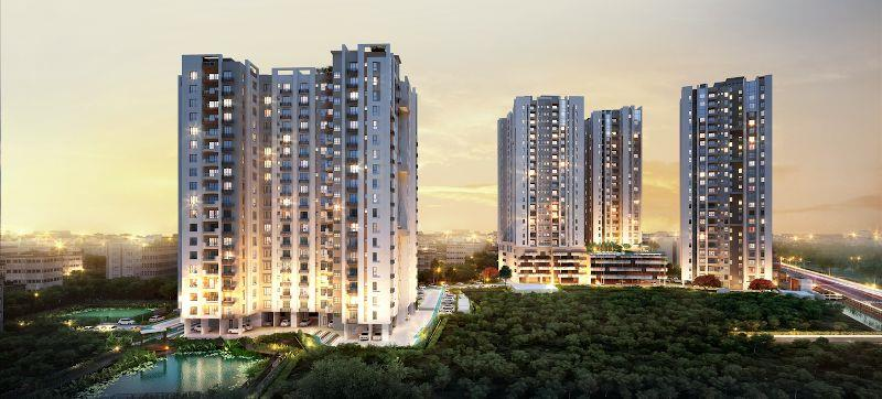 3 BHK Flat  at PS Ozone, Kamalgachi