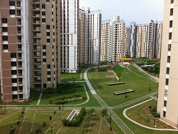 3 BHK Flat  at Unitech Heights, Newtown AA3