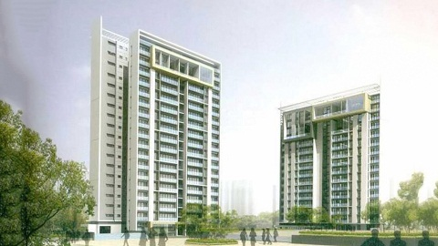 4 BHK Flat  at Unitech Downtown, Newtown AA3