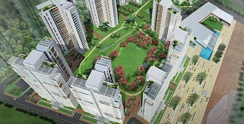 4 BHK, 4 BHK Penthouse , Unitech Cascades, , Newtown AA3 | Kolkata Properties : kolkataproperties.in For Sale or Rent