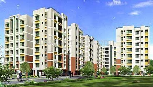 2 BHK Flat  at Clubtown Courtyard, Newtown AA1