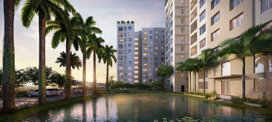 3 BHK Flat  at Udvita The Condoville, Maniktala