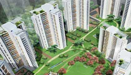 2 BHK Flat  at Unitech Cascades, Newtown