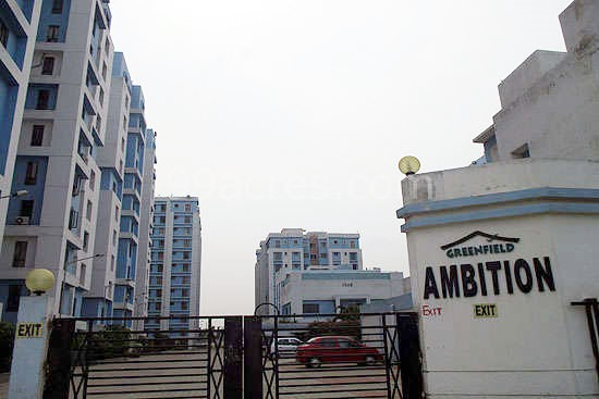 3 BHK Flat  at Greenfield Ambition, Newtown