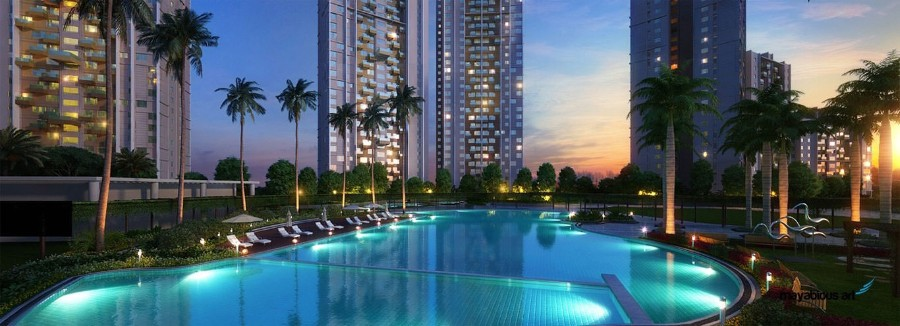 3 BHK Flat  at Elita Garden Vista Phase 2, Newtown