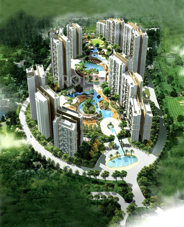 3 BHK Flat  at Elita Garden Vista, Newtown